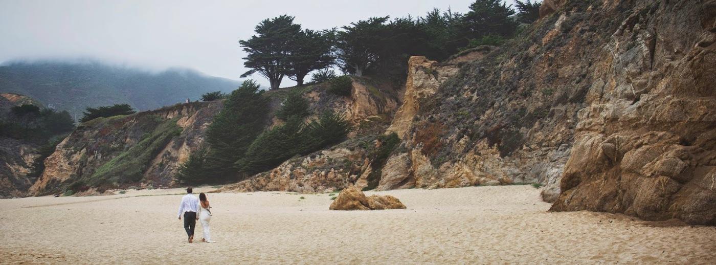Grey Whale Cove beach wedding