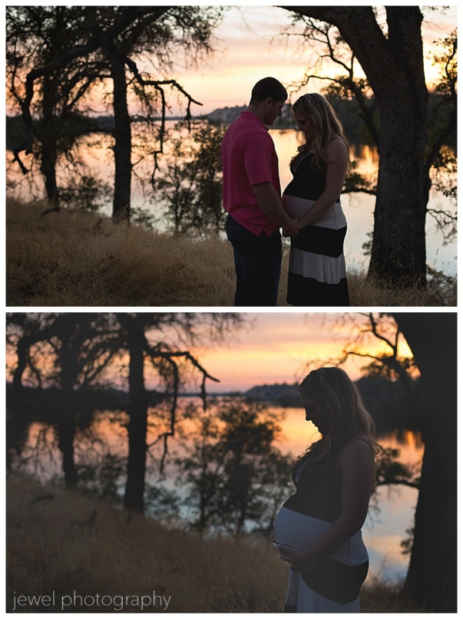 couple maternity sunset photograpy