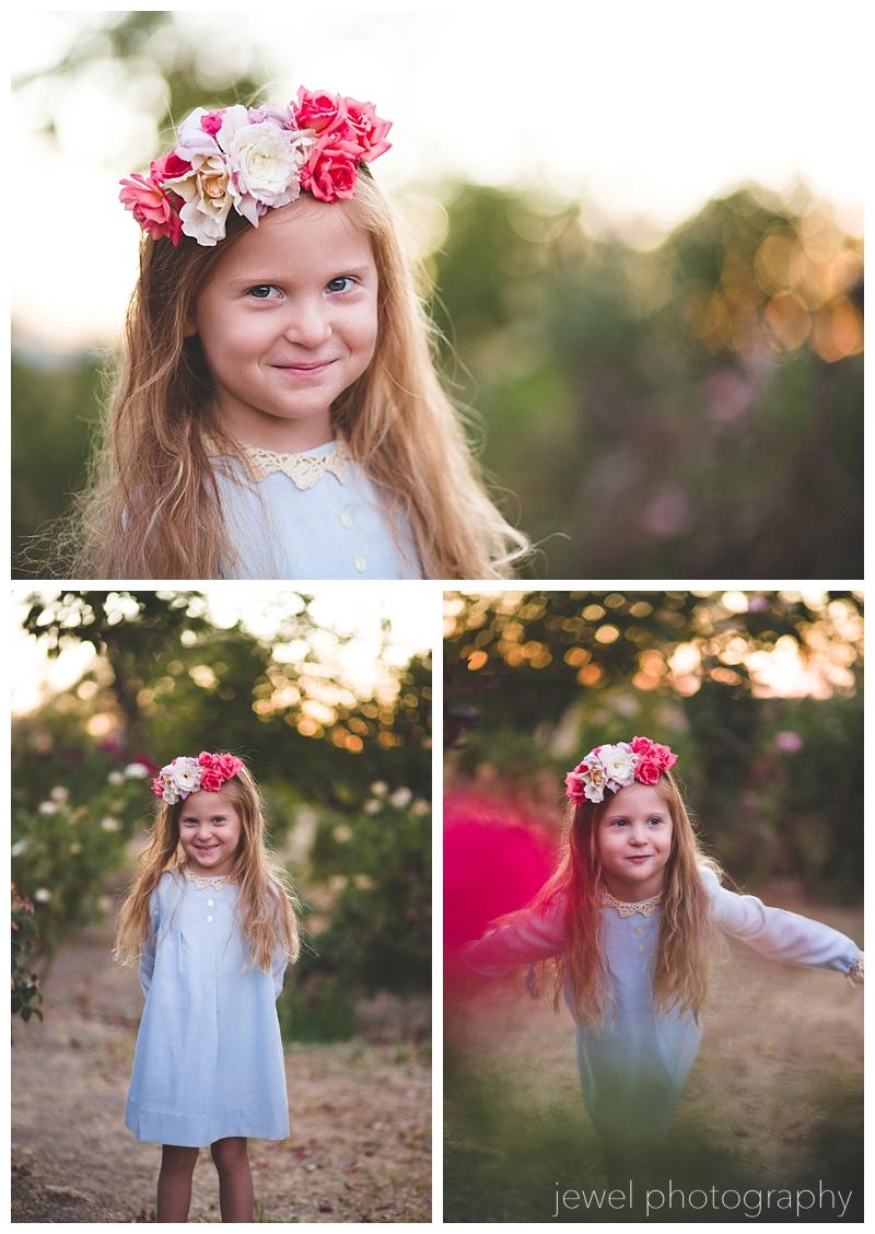vintage flower girl